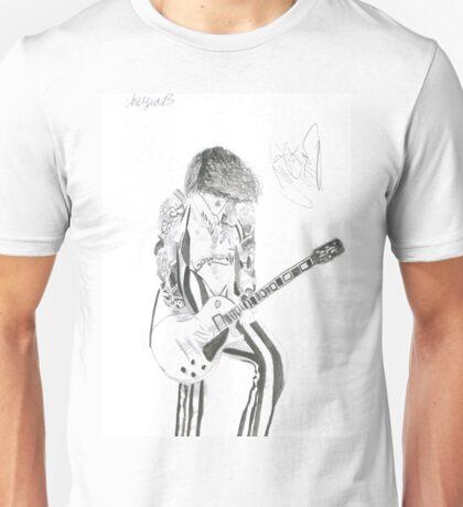 Signed Justin Hawkins Unisex T-Shirt