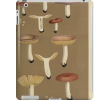 Illustrations of British Fungi by Mordecai Cubitt Cook 1891 V7 0551 RUSSULA  FRAGILES  CHAMELEONTINA iPad Case/Skin