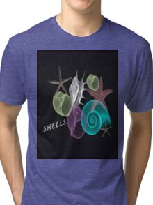 SHELLS '' BEAUTIA '' Tri-blend T-Shirt