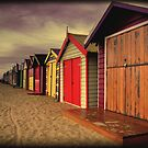Sheds of the past. by Thomas Anderson
