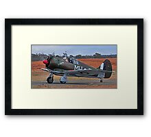 Boomerang, WW2 Australian Fighter Framed Print