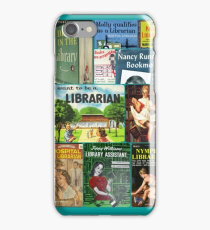 Librarians on Books iPhone Case/Skin