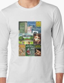 Librarians on Books Long Sleeve T-Shirt