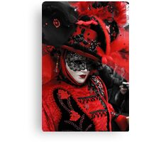 Red carnaval Canvas Print