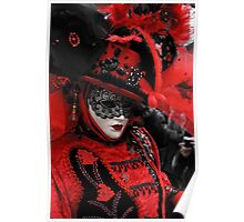 Red carnaval Poster