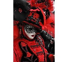 Red carnaval Photographic Print