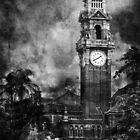 A shot rang out from the clock tower by Liza Yorkston