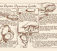 Oyster Opening Guide by wonder-webb