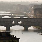 Florence and Arno by Luis Aviles-Ortiz