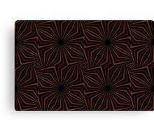 Tribal Geometric Vintage Pattern  Canvas Print