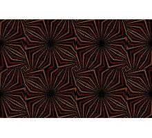 Tribal Geometric Vintage Pattern  Photographic Print