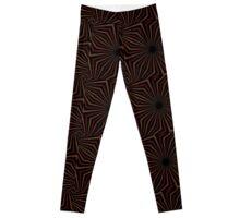 Tribal Geometric Vintage Pattern  Leggings