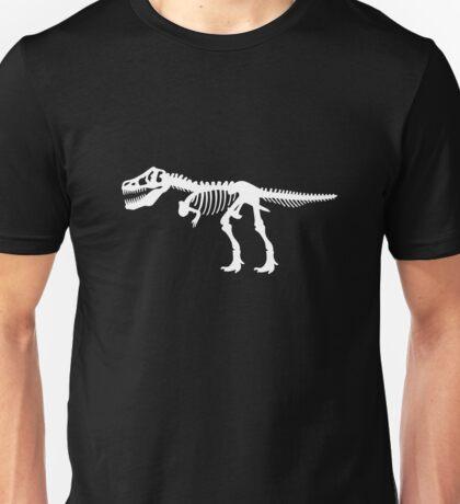 Tyrannosaurus Rex Dinosaur Skeleton Unisex T-Shirt