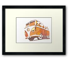 Home to rust Framed Print
