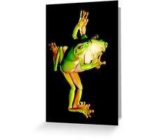 Dancing Reflections Greeting Card