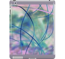 Blowing in the wind - abstract 1 iPad Case/Skin