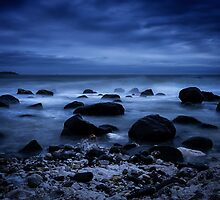 Boulders in Blue by hebrideslight