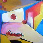falling apples... by Louma Rabah