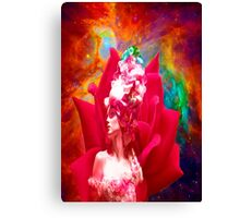 Star Flower Canvas Print