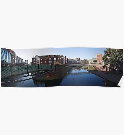 Birmingham panorama Poster