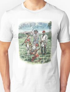French Troops at the Battle of Quebec 1759 T-Shirt