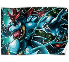 Feraligatr Swagger Poster
