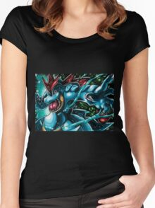Feraligatr Swagger Women's Fitted Scoop T-Shirt