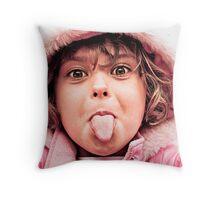 ...take that!... Throw Pillow