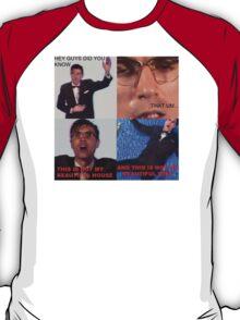 David Byrne Talking T-Shirt