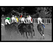 Race Series #6 Photographic Print