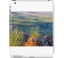 Palouse from Steptoe butte iPad Case/Skin