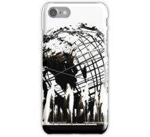 US Open Unisphere in Black and White iPhone Case/Skin