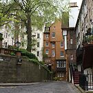 Ramsay Garden streetscape, Edinburgh by BronReid