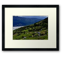 Abriachan, Inverness-shire, overlooking Loch Ness Framed Print