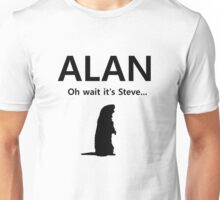 Alan! Unisex T-Shirt