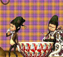 Note Card To Match - Tea ... Good For Your Elf! by Moonlake