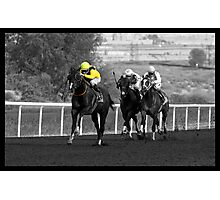 Race Series #10 Photographic Print
