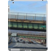 Driving Through Staten Island iPad Case/Skin