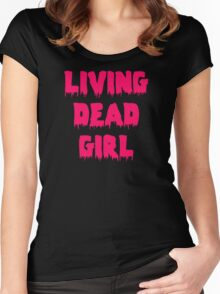 Living Dead Girl Women's Fitted Scoop T-Shirt