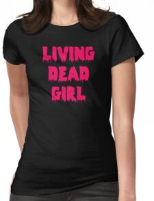 Living Dead Girl Womens Fitted T-Shirt