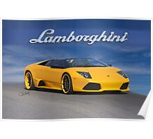 2009 Lamborghini Murcielago Roadster Poster