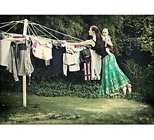 The Secret Powers of SuperMom... I wish... Photographic Print