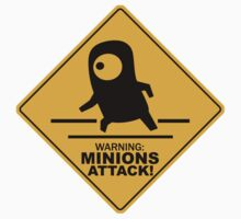Warning Minions Attack Despicable Me Film Funny Parody by LOVELYART