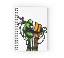Irish Fist Sticker/ Tee Spiral Notebook