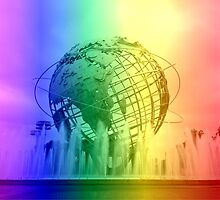 Pride Themed Unisphere - US Open by Johnny2X