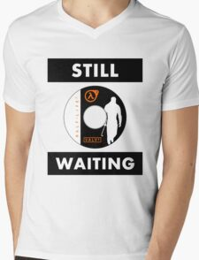 HL3 - Still Waiting Mens V-Neck T-Shirt