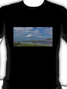 Kings Park Bluff (Panorama) T-Shirt