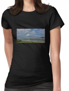 Kings Park Bluff (Panorama) Womens Fitted T-Shirt