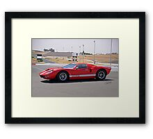 2008 Ford GT II Framed Print