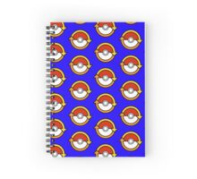 trade symbol pokeball design Spiral Notebook